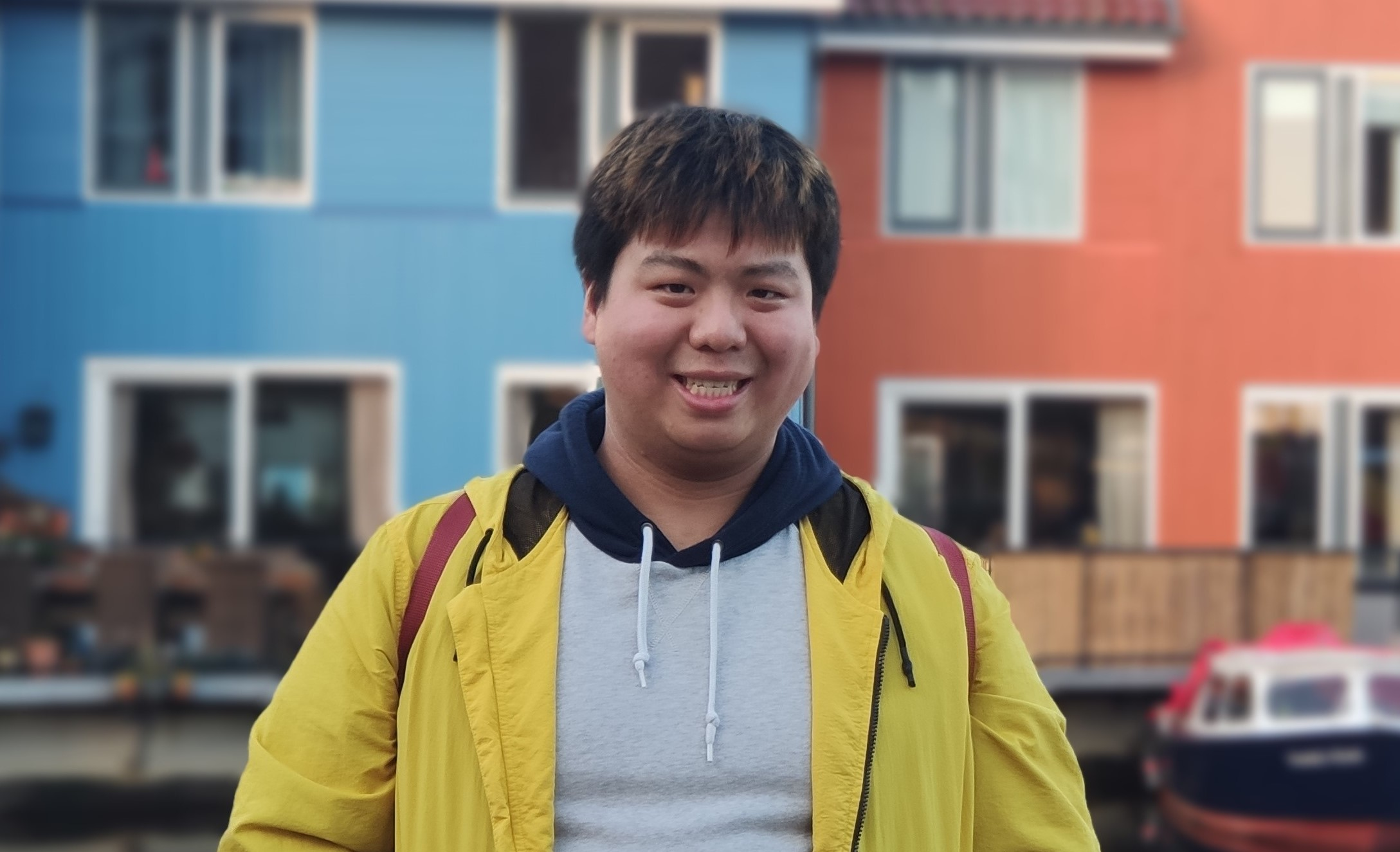 Otis Jiang chose to study at Jönköping International Business School (JIBS) because of the international environment the university offers. Foto: Privat.