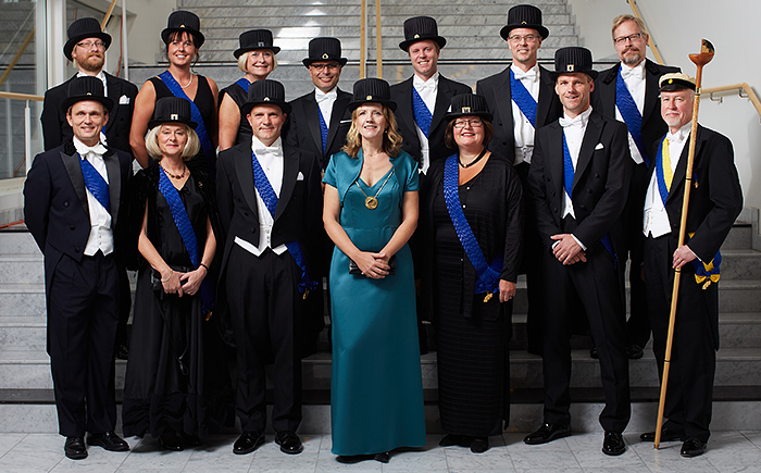 Inaugurated professors 2012